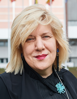 Dunja Mijatović, Council of Europe Commissioner for Human Rights